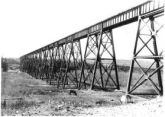 Alberta Central Railway trestle bridge
